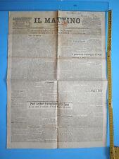 24/06/1904 IL MATTINO - Monumento di Goethe a Roma inaugurato con il Re - 267