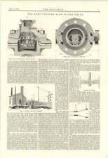 1895 il Kent uniforme Flusso Contatore Dell'Acqua Chelford INCIDENTE FERROVIARIO rapporto
