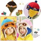 Winter Child Baby Toddler Boy Girl New Pilot Aviator Warm Cap Hat Beanie 6M-4Y