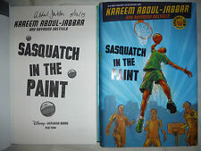 ***Signed 1st Print/Ed*** Kareem Abdul-Jabbar AUTOGRAPHED Sasquatch In The Paint