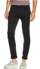 """""""Trussardi 350 Young"""" men's black jeans size 42 - Low rise Skinny Fit"""