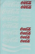 decals decalcomanie deco divers mots coca cola  1/18