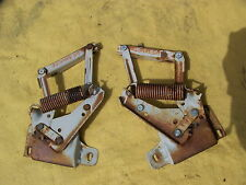 1965 PLYMOUTH SATELLITE BELVEDERE HOOD HINGES OEM 64 DODGE POLARA B BODY