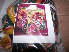 Design Works TIGER Tissue Box Cover Plastic Canvas Kit