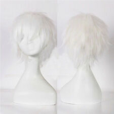 Halloween Unisex Short Wig Anime Cosplay Party Straight Hair Costume Full Wig #Q