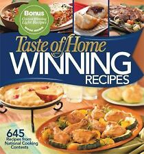 Taste of Home: Winning Recipes with a Bonus Book, 645 Recipes from National Cook