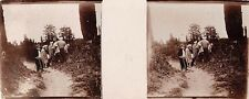 B76853 turkey brussa anatolia   stereoscopic card 10x4cm
