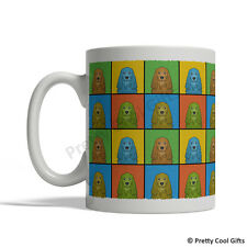 English Cocker Spaniel Dog Mug - Cartoon Pop-Art Coffee Tea Cup 11oz Ceramic