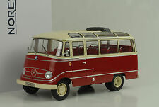 1960 Mercedes-Benz O319 Bus red rot creme 1:18 Norev