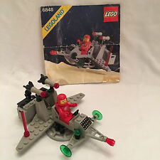 Vtg 1985 Lego #6848 Interplanetary Shuttle w Instructions & Minifig No Box RARE