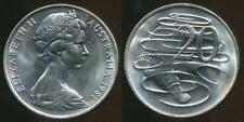 Australia, 1981 20 Cents, Elizabeth II - Uncirculated