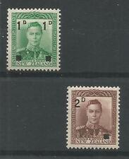 ARCADE 50p Nuova Zelanda 1941 supplemento Paio Nuovo