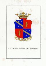 Araldica Stemma araldico della famiglia Ranghiasci-Brancaleoni di Gubbio