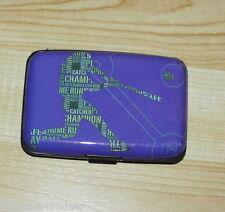 Hard Case Wallet / Credit Card Holder  Hard Plastic  7 Slots  Sports Design