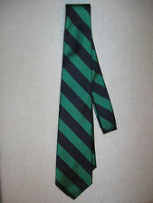 POLO Ralph Lauren Striped 100% Silk Tie Navy/Dark Green