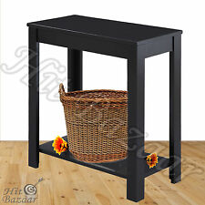 End Table Side Coffee Sofa Wooden Furniture Hallway Stand Foyer Tables Storage