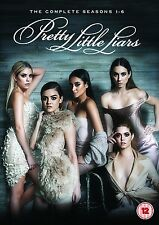 PRETTY LITTLE LIARS Stagioni 1-6 Serie Complete BOX 33 DVD in Inglese NEW .cp