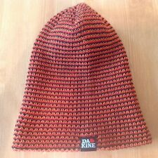 Dakine Stocking Hat Cap Beanie Loose Knit Autumn Black Brown Orange Yellow Red