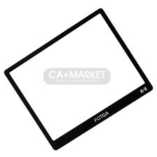 Fotga Glass LCD Screen Protector For Pentax K-X KX
