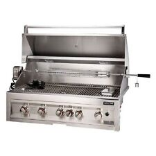 Sunstone Grills 42 Inch 5 Burner Gas Grill With Rotisserie Natural or Propane