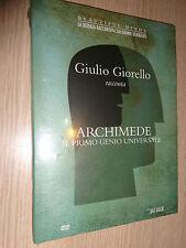 DVD N°2 BEAUTIFUL MINDS GIULIO GIORELLO SU ARCHIMEDE IL PRIMO GENIO UNIVERSALE