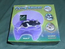 "Flying saucer exercise wheel hamster mouse cage toy 5"" small spinning"