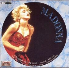 MADONNA UK PICTURE DISC CD Interview CBAK4019   NearMINT