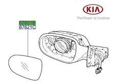 ORIGINALE Kia Sorento 2010-2015 Specchio Vetro Lato Passeggero-LH 876112p030