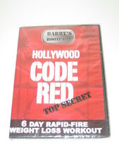 Hollywood Code Red Barry's Bootcamp DVD Brand NEW