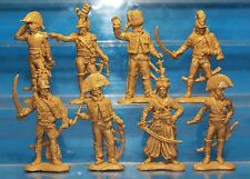 Plastic Toy Soldiers Napoleonic Wars French Army (Generals) set 2 1/32 54 mm