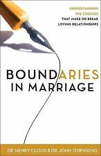 Boundaries in Marriage by Cloud & Townsend