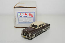 . U.S.A. MODELS MOTOR CITY USA-5 CHEVROLET BEL AIR FOUR DOOR 1954 MINT BOXED