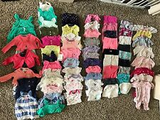 Baby Girl Newborn NB Clothes Lot Carters Oshkosh Gerber Gymboree