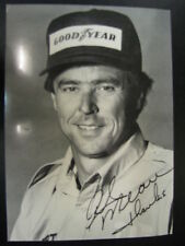 "Rick Mears signed photo ""thanks"""