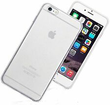 Thin White Clear Matte Hard Plastic Back Case Cover For iPhone 6S Plus 6 Plus