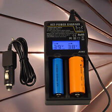 Universal Intellicharger Digicharger LCD 18650 18350 16340 14500 Smart Charger