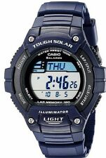 Casio WS220-2A, Solar Powered Watch, 5 Alarms, World Time, 120 Lap Memory