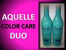 NEW AQUELLE MARINE THERAPY LOCK IN COLOR SAFE PROTECTING CONDITIONER SET 13.5 OZ