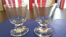 EMBASSY 5 1/2 oz FOOTED ROCK COCKTAIL GLASS ( SET OF TWO ) LIBBEY/BARS/CATERERS