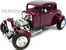 MOTORMAX 73172 AMERICAN CLASSICS 1932 32 FORD COUPE HOT ROD 1/18 DIECAST PURPLE