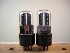 Sylvania Bad Boy 6SN7GT vacuum tubes matched and guaranteed TRUE Bad Boys