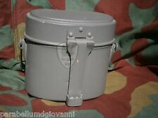 Gavetta tedesca M31, german mess tin, gavettino, piatto Wehrmacht WW2
