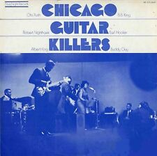 CHICAGO GUITAR KILLERS Otish Rush Albert King BLUE NIGHT RECORDS Sealed Vinyl LP
