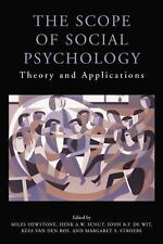 The Scope of Social Psychology : Theory and Applications (a Festschrift for...