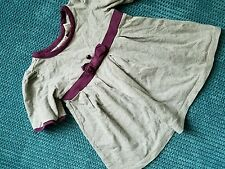 maggie zoe summer grey dress girl 12-18 months