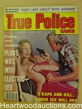 """True Police Cases"" August 1977 Assault Cover"