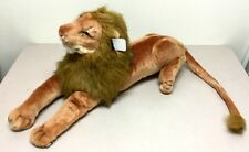 "32"" Stuffed Animal Giant live looking LION Just out of the Jungle  ""NEW"""