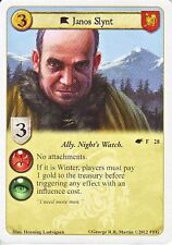 3 x Janos Slynt AGoT LCG 1.0 Game of Thrones The Winds of Winter 28