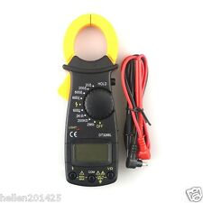 DT-3266L Clamp Multimeter Ampermeter Digital Current Clamp Meter with Test Probe
