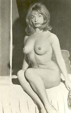 505 # Vintage Photo nude Pin-up girl nus nue Akt Busen busty Erotik blonde blond
